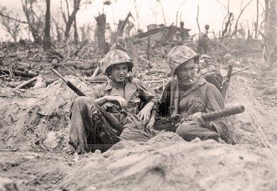 Soldados yankees en la Segunda Guerra Mundial