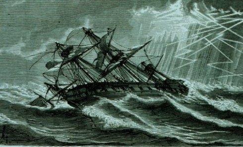 El Demeter, buque fantasma