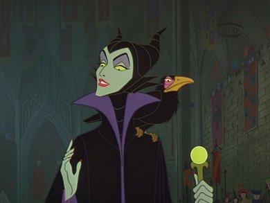 Imagen de Maleficent en la versión Disney