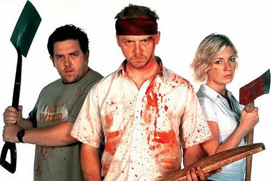 Shaun of the Dead, risas, sangre y zombies