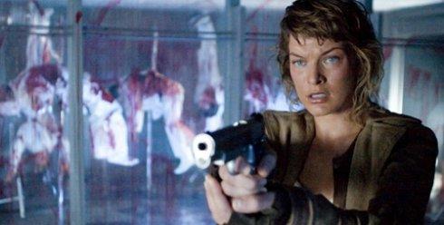 Milla Jovovich en Resident Evil Ultratumba