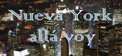 New York, allá voy