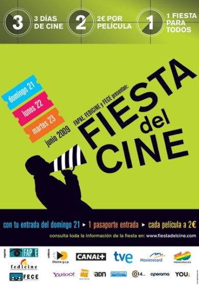 Cartel de La Fiesta del Cine