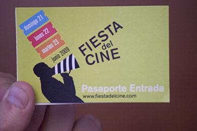 Pasaporte Fiesta del Cine