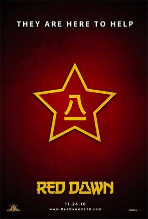 Cartel de Amanecer Rojo