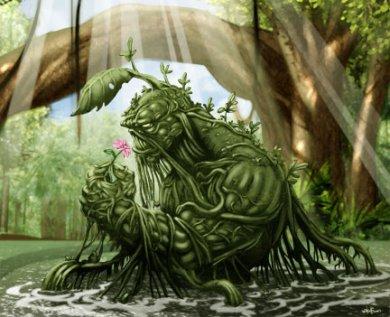 Viñeta de La Cosa del Pantano