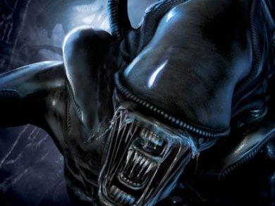 Un alien no muy amistoso