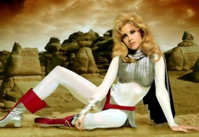 Jane Fonda como Barbarella