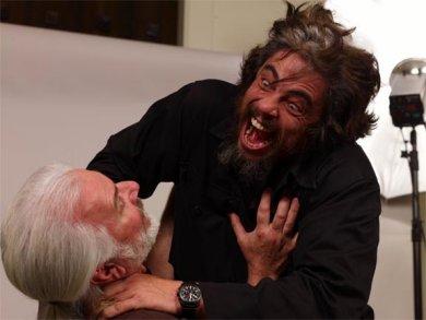 A Benicio no le gustan los cambios ...