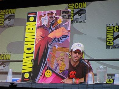 Zack Snyder en la Comic Con 2007