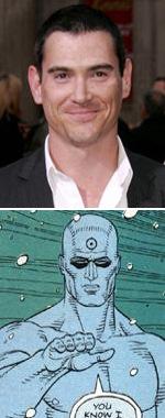 Billy Crudup es Dr. Manhattan