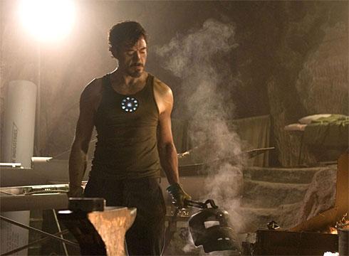 Robert Downey Jr. en Iron Man