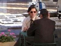 Eric Bana en el rodaje