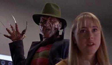 Freddy Krueger a la caza de una incauta