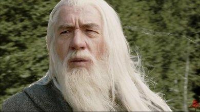 Ian McKellen en Gandalf