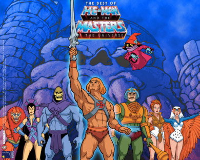 He-man y sus muchachos