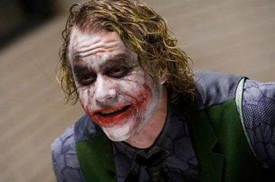 Headth Ledger como El Joker