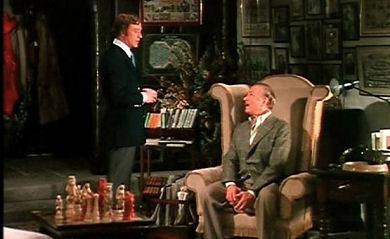 La Huella con Michael Caine y Laurence Olivier
