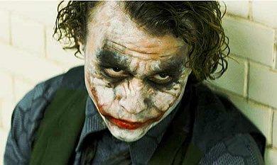 Heath Ledger como El Joker