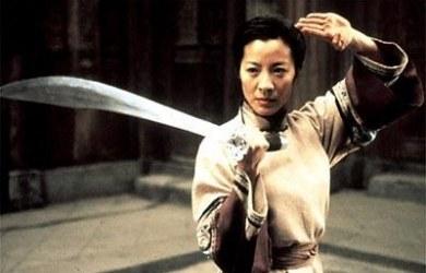 Michelle Yeoh en Tigre y Dragon