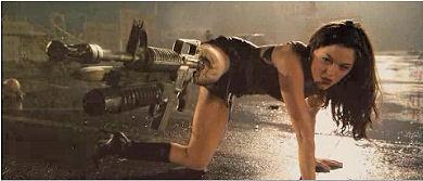 Rose McGowan en Planet Terror