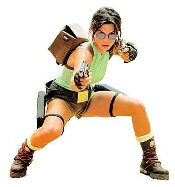 Rhona Mitra como Lara Croft