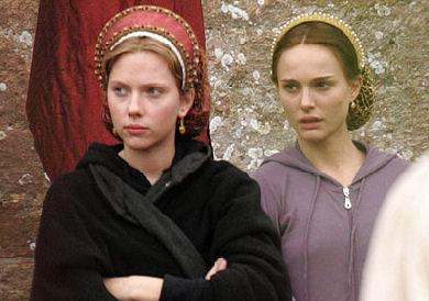 Natalie Portman y Scarlett Johansson en The Other Boleyn Girl