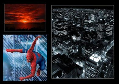 Fuentes usadas para el cartel falso de Spiderman 3