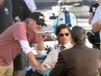 Steven Spielberg da instrucciones a Eric Bana
