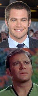 Chris Pine es Kirk
