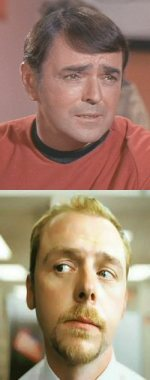 Simon Pegg es Scotty
