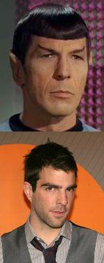 Zachary Quinto es Spock