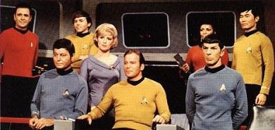 El reparto clásico de Star Trek
