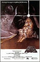 Cartel La Guerra de las Galaxias