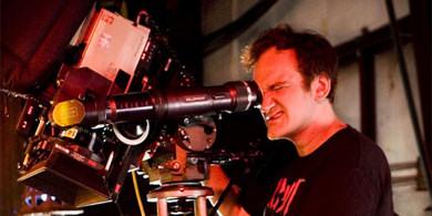 Tarantino filmando Death Proof