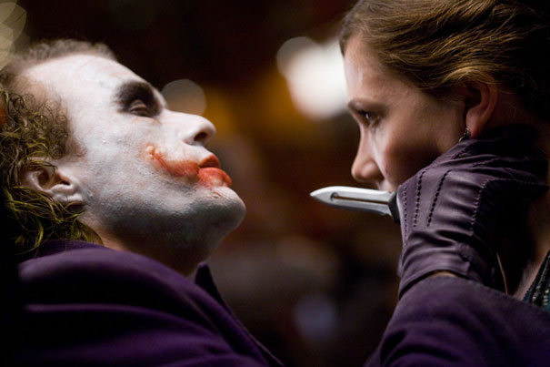 Heath Ledger como El Joker