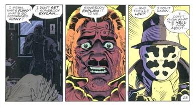 Viñetas de Watchmen
