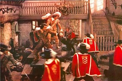 Fotograma de Los Tres Mosqueteros