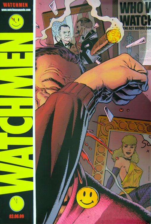 Cartel teaser de Watchmen