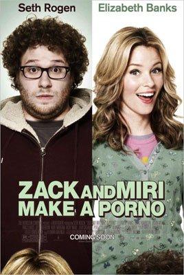 Cartel censurado de Zack and Miri