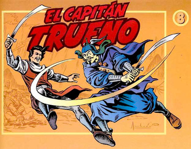 Portada de El Capitán Trueno