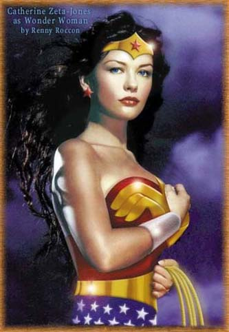 Catherine Zeta-Jones como Wonder Woman