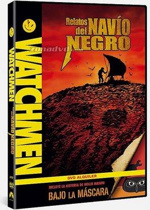 Carátula DVD Relatos del Navío Negro