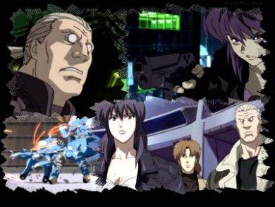 Uno de los animes basados en Ghost in the Shell