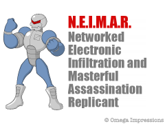 Networked Electronic Infiltration and Masterful Assassination Replicant