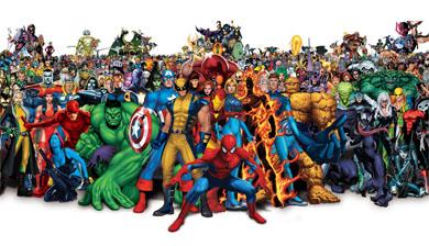 La familia Marvel