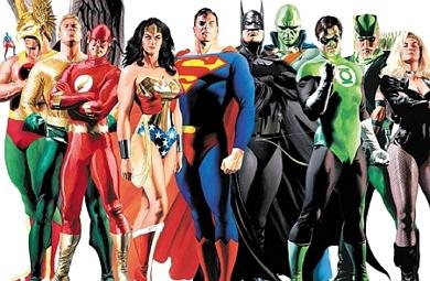La Liga de la Justicia al completo
