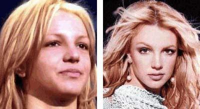 Britney sin maquillaje