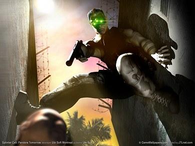 Pantalla de Splinter Cell