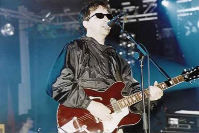 Ian Broudie, líder de The Lightning Seeds